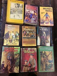 9 hardcover books. Classics.