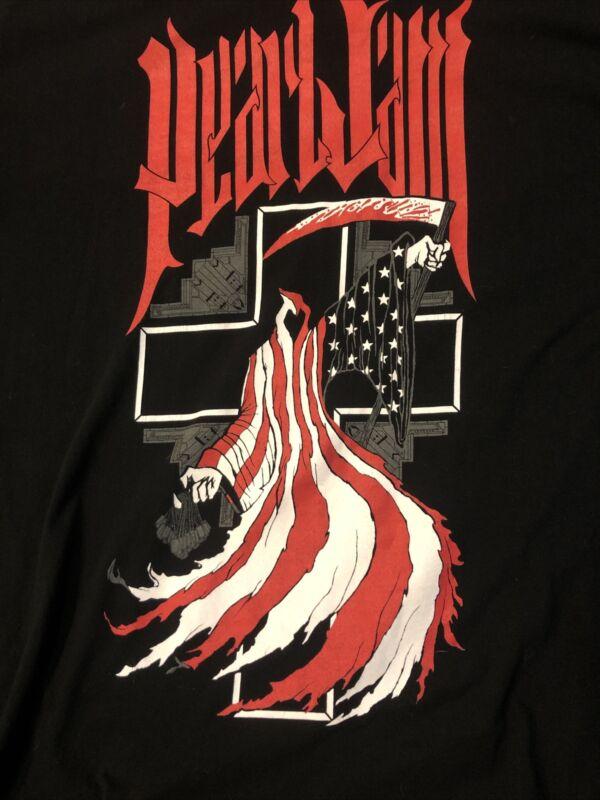 Pearl Jam 2008 Tour Shirt Size Large