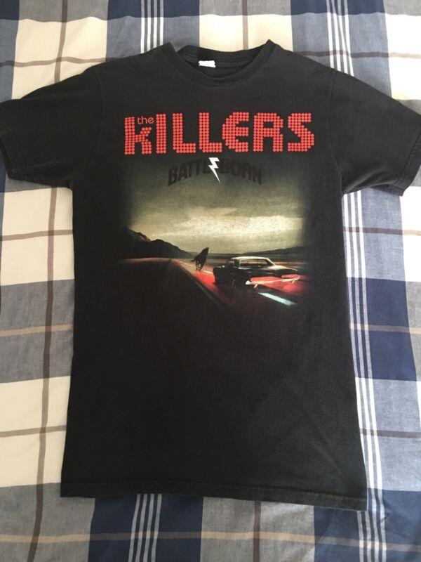 The Killers Battle/Born 2013 U.S. Tour Concert T-Shirt Size Women's Medium
