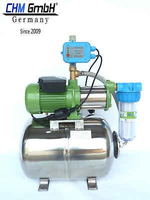 Hauswasserwerk Guss-Gartenpumpe Brauchwasser Pumpe 230V