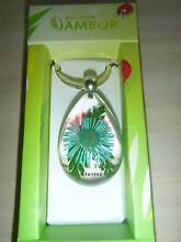 Embedded Blue Daisy Key Chain Nowra Nowra-Bomaderry Preview