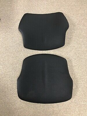 Cushions For Humanscale Freedom Task Chair Seat Back Foam Black Fabric