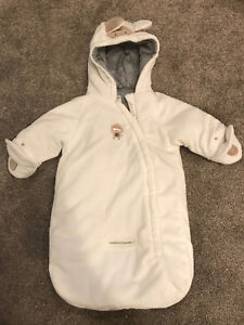 Infant 0-6m winter bunting bag jacket