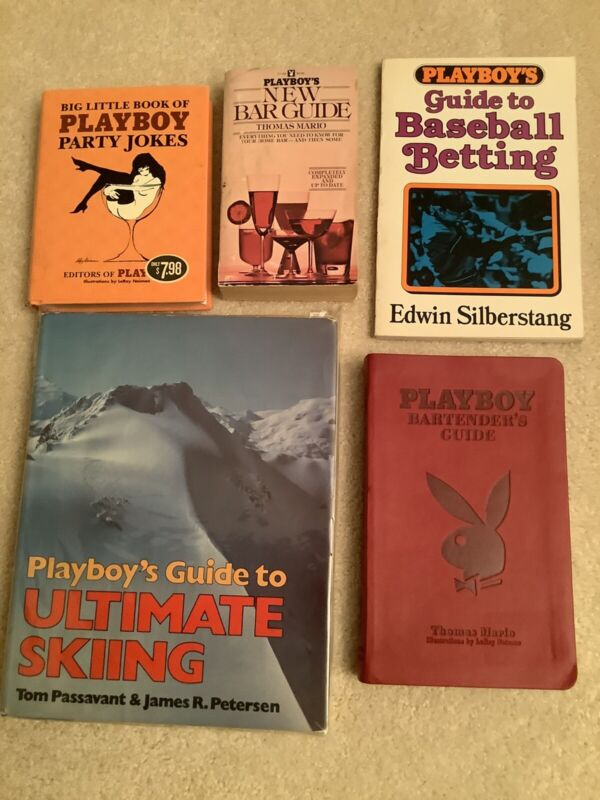 Playboy Bartender, Party Jokes, Skiing, Betting, Club Bunny Playmate