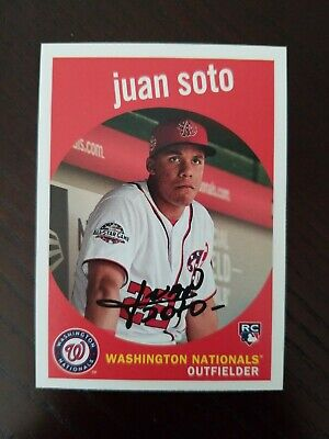 Juan Soto Rookie RC 2018 Topps Archives #73