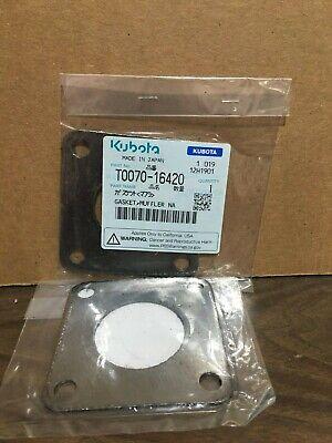 Genuine Kubota Muffler Gasket 4 Bolt T0070-16420 D1403 D1503 D1703 V2003 V2203