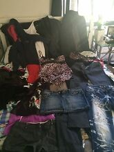 Assorted women's clothes