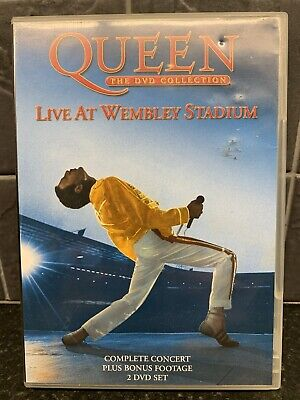 Queen - The DVD Collection: Live At Wembley Stadium (2003 2-Disc Set) Free P&P