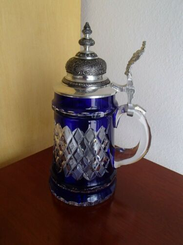 Armin Bay Crystal Colored (blue) Limited Edition Stein
