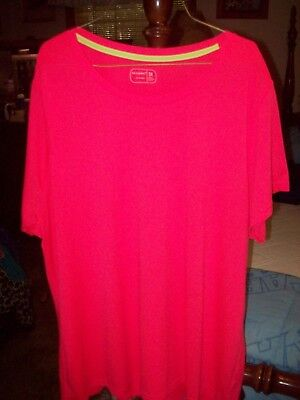 Be Inspired Women S Athletic Pullover Top Outdoor Casual Workout Sz 3X Vguc