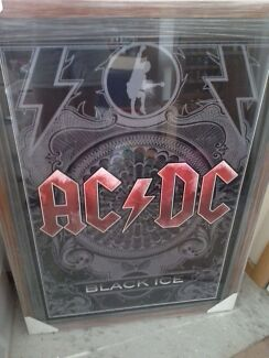 ACDC poster in frame Electrona Kingborough Area Preview