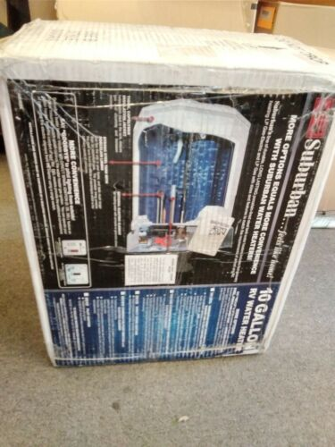 Suburban 5243A Combo RV 10 Gal Gas & Electric Water Heater with Direct Spark