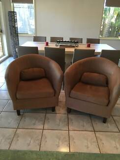 As New Tub Chairs x 2 Yamanto Ipswich City Preview