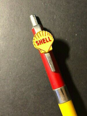 Vintage 1950's-60's Ballpoint Adverting Pen - Paxton, IL Shell Service - Gas