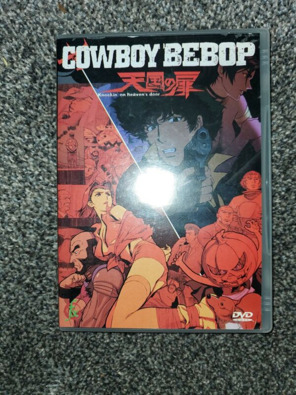 Cowboy Bebop DVD Knockin On Heavens Door (Rare original movie)