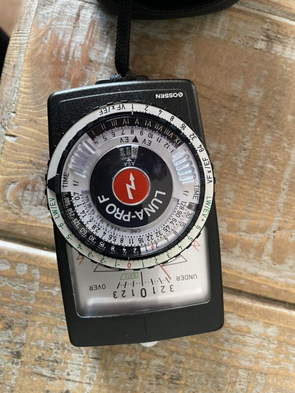 Mint GOSSEN LUNA PRO F Light Meter with Case