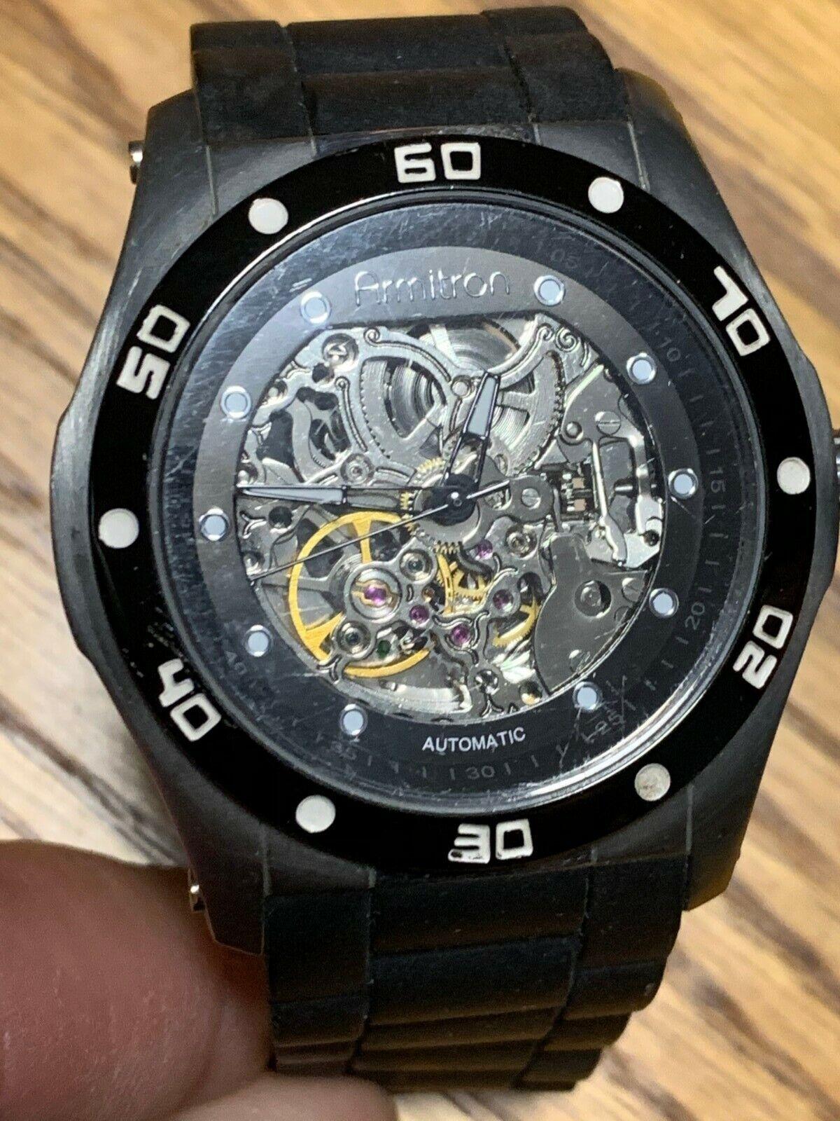 Mens Armitron Watch TY2807SV Parts/Repair  - $4.99