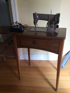 singer sewing machine cabinet | Antiques, Art & Collectables