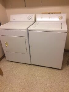 Frigidaire washer and dry