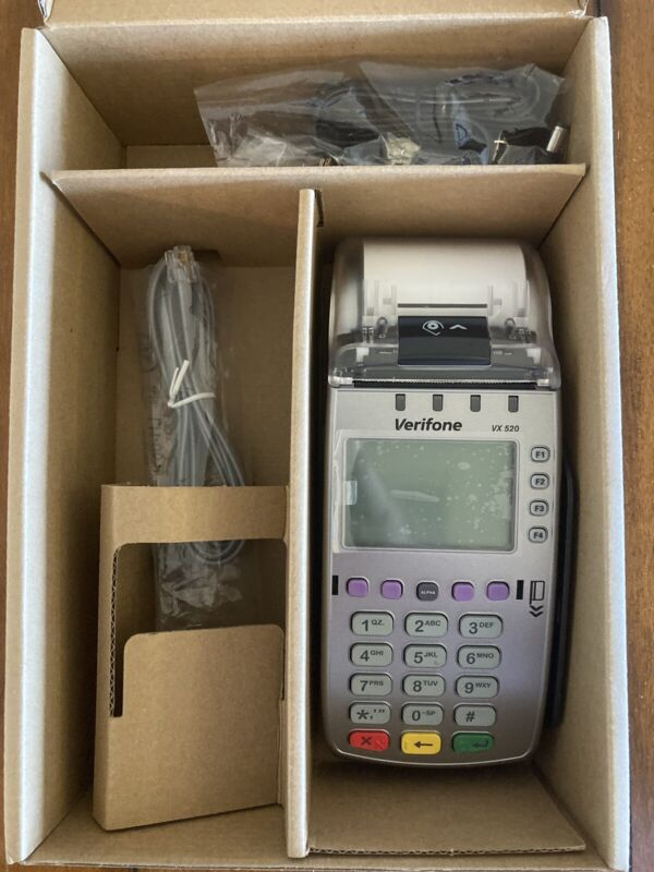 VeriFone VX 520 Payment Terminal Model M252-653-AD-NAA-3