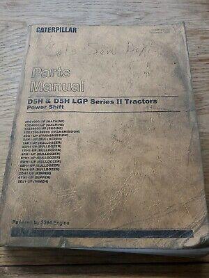 Caterpillar D5h D5h Lgp Series Ii Tractors Power Shift Parts Manual 1r-1456-m5