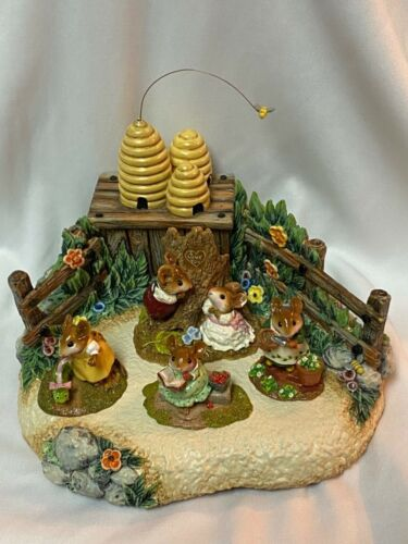 Bee Hive  Spring Display for Wee Forest Folk WFF not Included