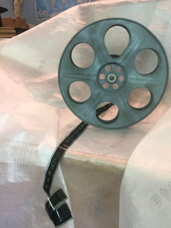 "Goldberg 35mm 14.5"" 2000ft. Antique Metal Film Reel"
