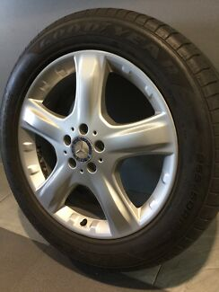 "MERCEDES ML500 19"" GENUINE ALLOY WHEELS AND TYRES Carramar Fairfield Area Preview"