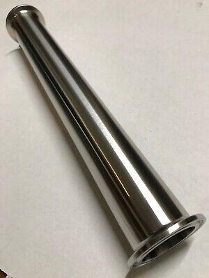 1.5 X 24 Long Sanitary Spool Tri Clamp Stainless Steel 304