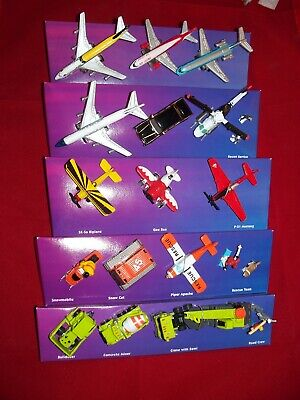 5 SETS MICRO MACHINES Miniature Vehicles NEW ( no Blister packs ), Planes +++