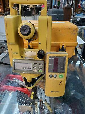 Topcon Dt-100 Dt-104 Dt104 Digital Theodite Transit Level Ls-70b Sensor Tool