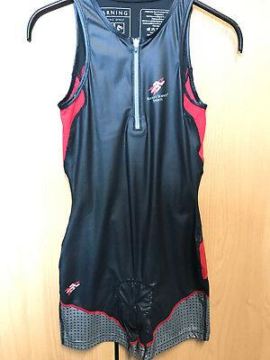 Rocket Science Sports Trisuit Race Suit plus size M black/red NEU