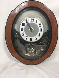 Small World Rhythm Musical Wall Clock