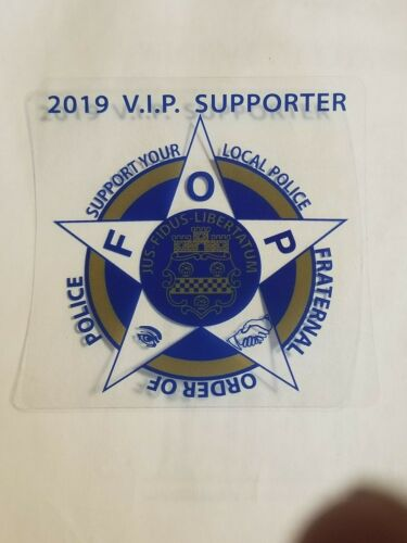FOP 2019 VIP Supporter Decal Stickers (8 stickers)