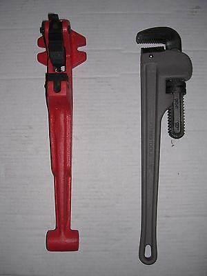 New Foot Vise Pipe Wrench 12-1-14 Ridgid 65r Pipe Threader 811 815 11r 12r