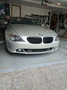 2004 BMW 645 - 6 Speed - Never winter driven