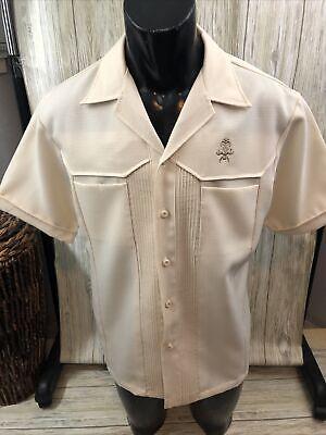 1970s Mens Shirt Styles – Vintage 70s Shirts for Guys VINTAGE IOLANI HAWAII•Executive Men's Aloha Shirt 1970's  Size XL $47.00 AT vintagedancer.com