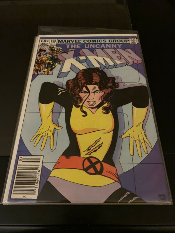 uncanny x-men 168 First Appearance Of Madelyn Pryor