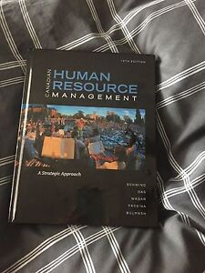Canadian Human Resource Management- 10th Edition Textbook