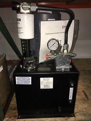 MONARCH Power, 8gal ,208-230/460VAC, 2500 psi, T1VA355C02F1-01. 3HP.