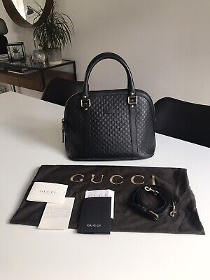 Gucci Dome GG Guccissima Black Cross Body Bag RRP £650+