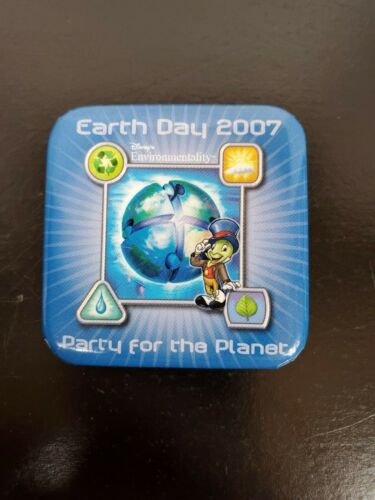 Earth Day 2007 Pin featuring Jimmy Cricket
