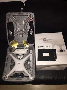 Phantom 4 with 4K camera