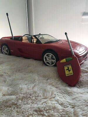 Remote Control Barbie F355 Spider Ferrari, Battery Operated