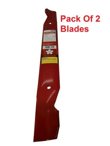 """(2) Pack Craftsman 134149 138971 138498 127843 42"""" OEM Mower Deck Blades 24652"""