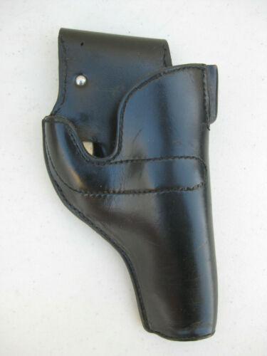 VINTAGE DE MAYO New York SURE LOCK POLICE LEATHER HOLSTER Medium Frame S&W Colt