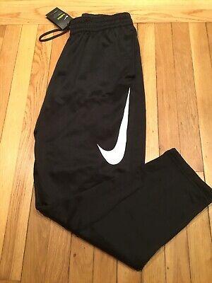 Nike Dri-Fit Therma Mens Training Pants Size Medium Black/White MSRP $55