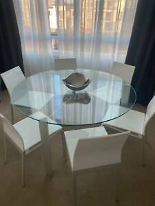 Contemporary Dinning Table set and Coffee Table