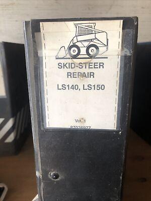 New Holland Ls140 Ls150 Skid Steer Loader Service Repair Shop Manual Original Nh
