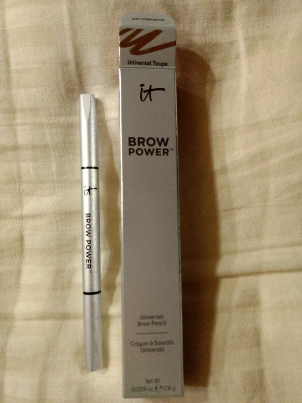 it Cosmetics Brow Power Eyebrow Pencil UNIVERSAL TAUPE Shade